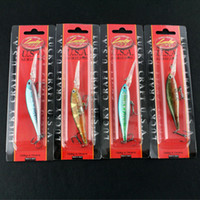 Wholesale 3D Minnow Fishing Lure Lucky Craft Hard Bait Fresh Water Deep Water Bass Walleye Crappie Minnow Fishing Tackle
