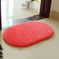 Wholesale 40 cm Absorbent Soft Memory Foam Bath Bathroom Floor Shower Mat Rug Non slip