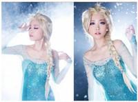 Wholesale Cosplay Wig Frozen Anna Elsa Hairpiece Cosplay Hairpieces Cosplay Accessories Light Golden Hairpieces High Quality Frozen Hairpieces
