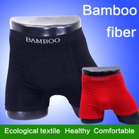 Wholesale Hot Whosale Bamboo Fiber Soft and Comfortable Mens Underwear Boxers Men shorts Seamless Sexy Underwear