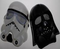 Wholesale Star wars mask Darth Vader Empire Storm Clone trooper helmet black warrior Empire soldiers Halloween mask party games Mask