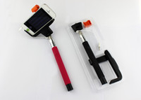 NUEVO Z07-5 Plus selfie palillo extensible Monopod del trípode Shutter apoyar ISO Smartphone Android con 3.5mm Cable pole