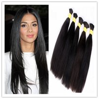 Wholesale best quality gram natural raw unprocessed Brazilian human hair bulk hair cheap hot sale