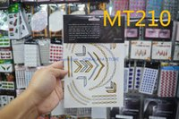 Wholesale MT210 Beyonce Is Wearing Silver Gold Temporary Tattoos Flash Bling Metallic Jewelry Tattoo And Silver Foil Tattoos for BELLY DANCE