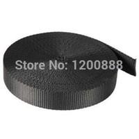 Wholesale 1 quot Inch Yards Black Nylon Webbing Q004