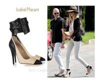 ladies shoes size - Women Dress Shoes High Heels Pumps Platform Ladies Shoes Sexy Shoes Ankle Strap Individual Splice Plues Size US9 EU39 jjm222