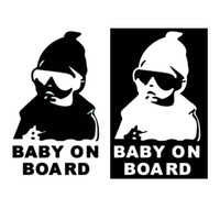 Wholesale Super Cool Kids Baby on Board Carlos Hangover funny car vinyl sticker decal adhesive sticker