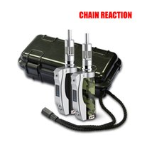 battery reaction - Chain Reaction mod with green camouflage black Chain Reaction W box mod fit battery mah Thread electronic cigarette free DHL