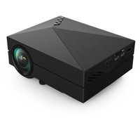 Wholesale GM60 Mini Projector LCD LM x Resolution AV USB HDMI VGA SD Home and Outdoor Theater cinema Projector Proyector