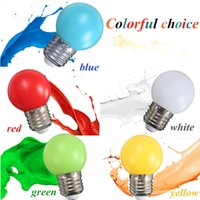 golf ball led - Colorful E27 Led Bulb Energy Saving LED Golf Ball Light Globe Bulb AC110 V Colors Choice Decoration Christmas Bulb