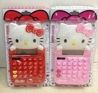 desktop calculator - New Available Lovely Hello Kitty Calculator Cartoon Kids School Desktop Calculator G142