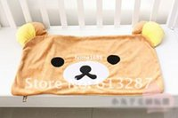 Cheap 63*42 CM Kawaii Rilakkuma Plush Pillow Case,Pillow Cover,Pillowcase Animals Retail KCS