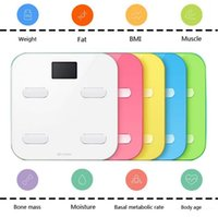 Wholesale New Arrival Yunmai scales Bathroom Scales Smart Scale Bluetooth Electronic Digital Weight Body Fat And Water Conten
