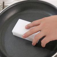 Wholesale Magic Sponge White Color Home Eraser Cleaning Sponges Kitchen Bathroom Wash Car Clear Tool Wholesales JG0030 kevinstyle