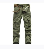 big boy overalls - Spring camping hiking denim trousers men big size outdoor pants slacks casual cotton trousers boy overalls Traveling pants