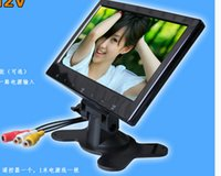 Wholesale 7 quot TFT LCD Digital Color Screen Car Monitor HD for Rear View Camera