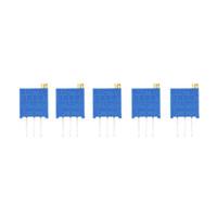 assorted brand resistor - 5pcs Potentiometer Assorted Variable Resistor Resistive W values Brand New