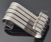 Wholesale Powerful Silver S Shape Hook Stainless Steel Hanger Pot Pan Hooks Home Kitchen Bar Clothes Clasp Hooks