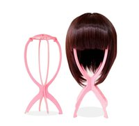 Wholesale Wig bracket wig placement holder wig stand wig dedicated rack folding head frame