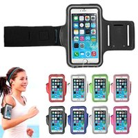 Wholesale 8 Style universal Luxury Waterproof Sportswear Running Bags Jogging Armband Cases for iPhone s for inch Mobile Cellphones