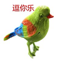Wholesale The bird singing voice compact gadgets funny toys toys hot summer stall