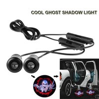 Wholesale A Pair D Car door Led Welcome Laser Projector Logo Ghost Shadow Light For All Car