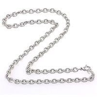 asian funds - FC FC card round spot U shaped necklace men and women titanium steel necklace titanium steel necklace decorated with new funds KL