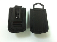 Wholesale foldable and protective battery bag battery case Nylon Battery Storage Bags small battery carrying pouch with clip