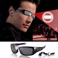 Wholesale 8GB Multi functional Megasight Sunglasses Music Video Build in Speaker Recorder Battery CG005