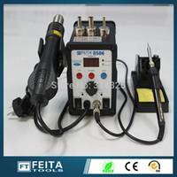 Wholesale FEITA FT8586 IC SMD Desoldering Soldering Station Hot Air Station