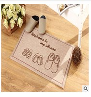 bath carpet cleaning - Hot Sales Lovely Sitting Room Hall Bedroom Carpet The Door Mat Bath Mat Can Be Cleaned Bath Mat Bathroom Floor Rugs TOP669