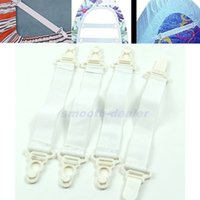 Wholesale x Bed Sheet Mattress Cover Blankets Grippers Clip Holder Fasteners Elastic Set PY PY