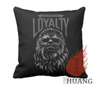 Wholesale Star Wars Chewbacca Durable x18 inch Throw Pillow Cases Cover twin sides