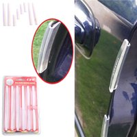 Wholesale 8pcs Car Door Edge Protector Strip Bumper Gelatin Strip Chafing Strip Scratch Protector Set Fit All Kinds Of Car