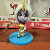 Wholesale LOL Cute League of Legends Dryad Soraka Model Stuffed Action Figure Toy Gift