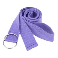 Wholesale Cotton Multi Colors cm Yoga Belt Stretching Strap Waist Arms Leg Stretch Strap Pilates Yoga Exercise Fitness Gym Rope