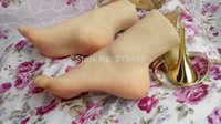 Cheap sex product solid silicone doll female Pussy Feet Fake women feet model clones mannequin whitening skin