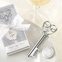 Wholesale Wedding Bomboniere Favours Key To My Heart Bottle Opener