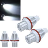Wholesale Hot Sale W White CREE LED Angel Eye Halo Bulb Light for BMW E39 E53 E60 E63 E64 E65 E66 E83 E87 Error Free