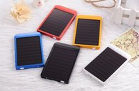 banks channel - RU solar power bank with capacity MAH battery protable pocket mobile charger channel external battery