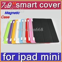7.9'' other other Cheap Hot DHL 200pcs Smart Magnetic Cover Case for Apple iPad mini 7.9''PC Stander Sleep Wake UP PTA-A
