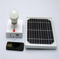 best solar system - 3W Camping solar light Best price Solar system w led light with usb charging function for home use SD03