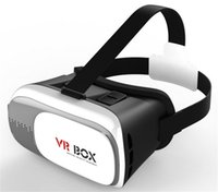 Wholesale HOT Sale Google cardboard HeadMount VR BOX Version VR Virtual D Glasses