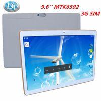 Cheap 50%discounts!!! 9.6inch MTK6592 IPS HD Octa Core 3G Tablet Phone 32G ROM 2G RAM SUPER slim 8mm GPS Dual sim card