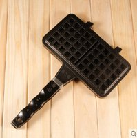 Wholesale New Kitchen Tayaki Waffle Mould Non stick Cookie Cake Mold Waffles Pans DIY Muffins Mould for Love Breakfast Bakeware