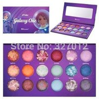 palette 18 color - 1pcs New Styler Makeup BH Cosmetics Galaxy Chic Color Baked Eyeshadow Palette