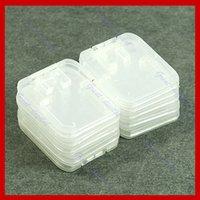 Wholesale TF Micro SD SDHC Memory Card Plastic Case White