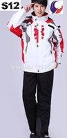 best mens ski pants - Best Selling Mens Ski Suit Skiing Jacket and Pants Snowboard Winter Sport Jacket Outdoor Skiing Set S12