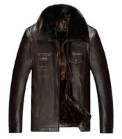 bicycle leather coat - Fall Winter Leather Jacket Men Riding A Bicycle Motorcycle Leather Jacket Men Windproof PU Leather Jackets And Coats Fashion Parkas