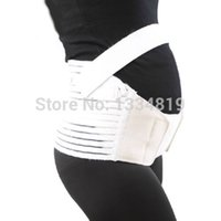 Wholesale White Maternity Belly Band Pregnancy Back Support Prenatal Strap Belt